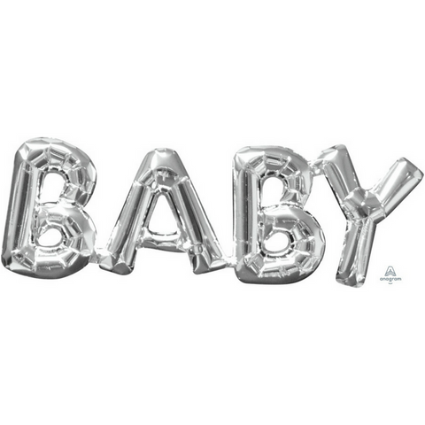 Baby Shower Balloon Silver - This Little Party