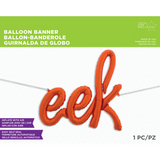 Halloween Eek Balloon Banner - This Little Party