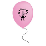 Wiggles Emma Pink Party Balloons 6pk - This Little Party