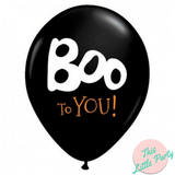Halloween Boo To You Party Balloons 6pk - This Little Party