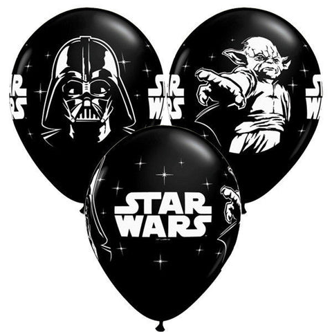 Star Wars Black & White Party Balloons - official licensed product - This Little Party