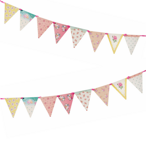 Paper Bunting Flags Chintz - This Little Party
