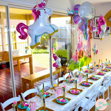 Giant Unicorn Foil Balloon - This Little Party