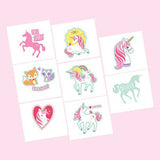 Temporary Tattoos Unicorn Party Favours 8pk - This Little Party