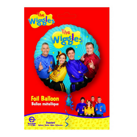 Wiggles Foil Party Balloon - This Little Party