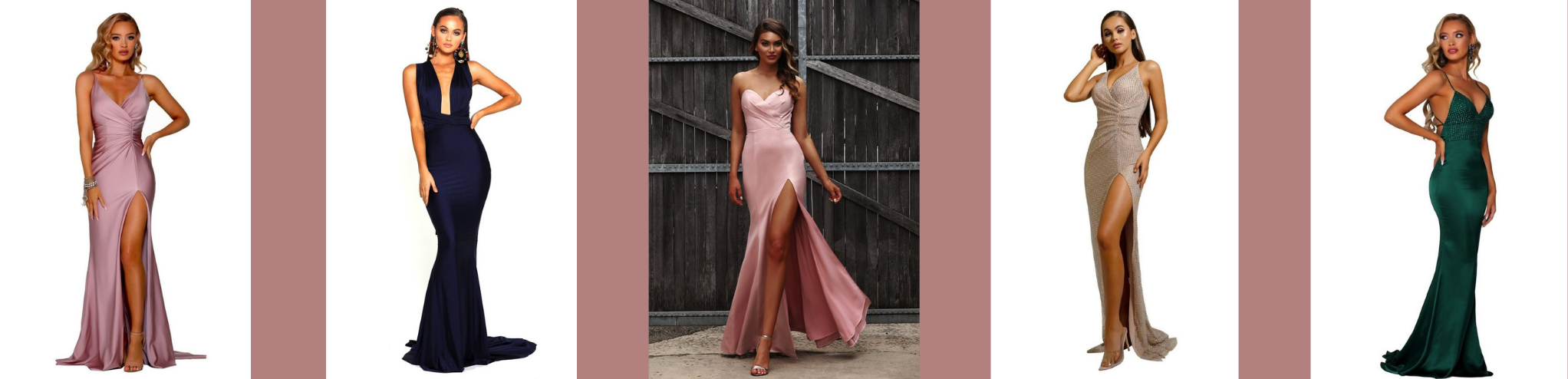 Prom dresses all available from Finique