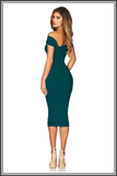 Nookie Alchemy Midi Dress Teal