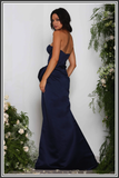 Elle Zeitoune Anya Dress Midnight Blue
