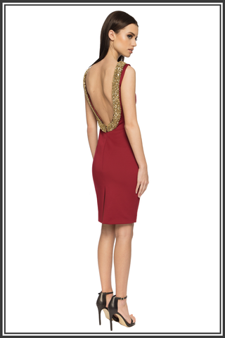 Red Backless Dresses