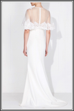 Love Honor Capelet Gown