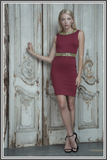 Aloura London Cavendish Dress - Red
