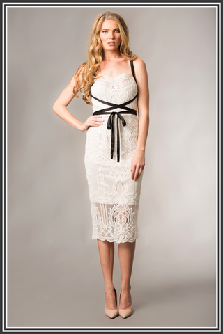 Giselle & Sophia Ivory Dress