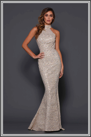Clement Gown - Gold