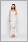 Jadore Diamond Fishtail Gown