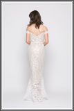 Diamond Gown - Ivory / Nude