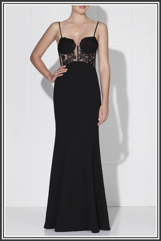 Empress Gown - Classic Black