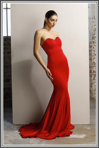 Emily Gown - Red