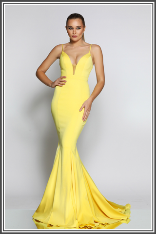 Jadore Farah Dress Yellow