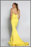 Jadore Farah Dresses Yellow