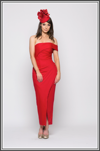 Bariano Red Dress