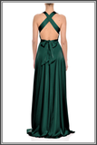 Green Gracie Maxi Dress by Nadine Merabi