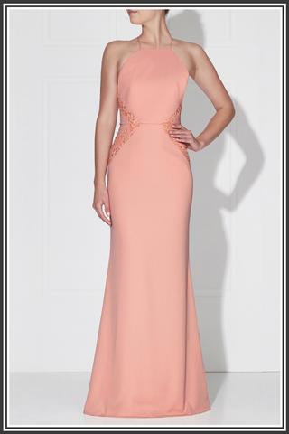 Love Honor Isabella Dress Pink