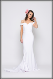 Jadore Crystal Gown white