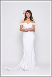 Jadore Crystal dress white