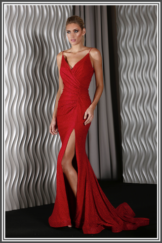Rosalie Gown - Red