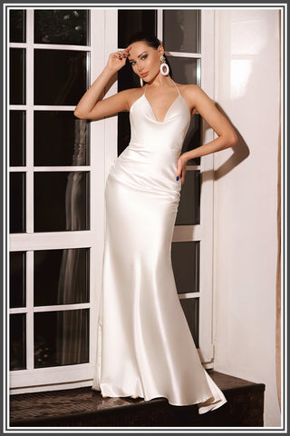 Jadore Abi Gown - Ivory