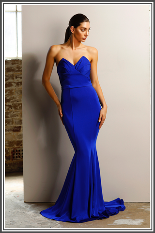 Jadore Venice Dress in Cobalt Blue