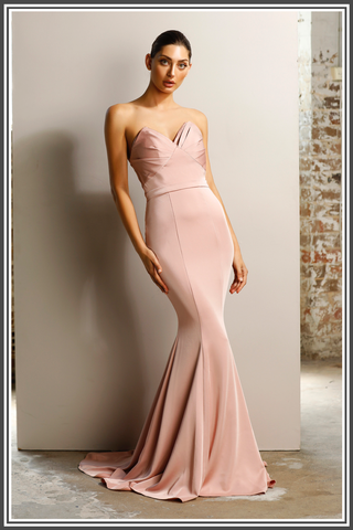 Jadore Venice Dress in Dusty Pink
