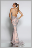 Rihanna Gown - Dusty Pink