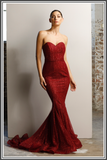 Vogue Gown - Red