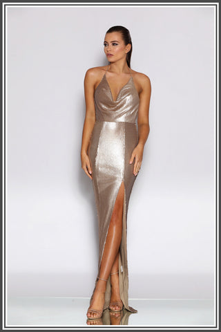Holli Gown - Bronze