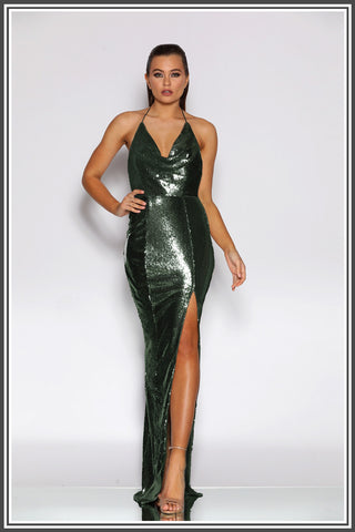 Holli Gown - Emerald