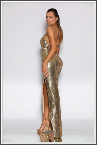 Holli Gown - Gold