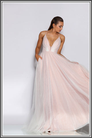 Roberta Gown - Rose Pink