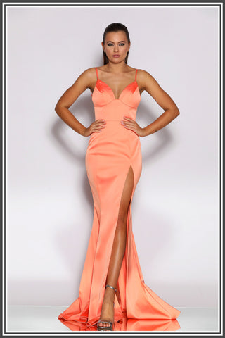 Dolce Gown - Coral