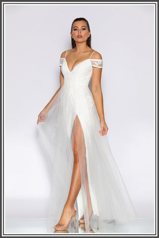 Lotti Gown - Ivory