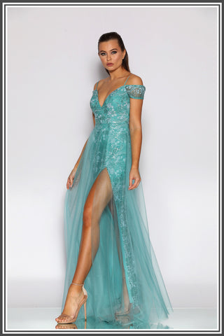 Lotti Gown - Sage
