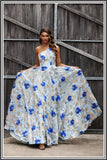 Daisy Gown - Blue