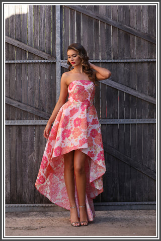 Jadore Lily Dress in Pink
