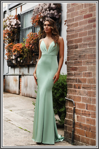 Jadore Tia Dress in Sage