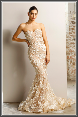 Jadore Keeva Gown Champagne