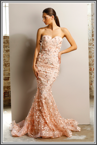 Jadore Keeva Gown in Pink
