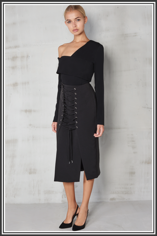 Lavish Alice Skirt Black