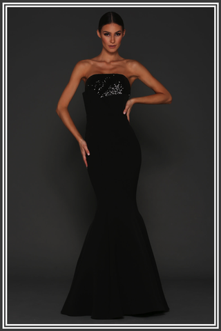 Nerissa Gown - Black