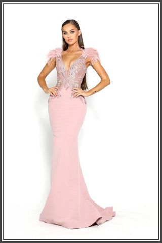 Portia and Scarlett Naomi Gown - Blush