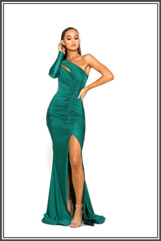 Portia and Scarlett PS2068 in Emerald Gown